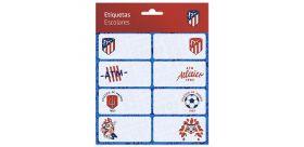 Zošitové štítky Atletico de Madrid