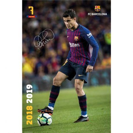 Poster FC Barcelona 2018/19 Coutinho