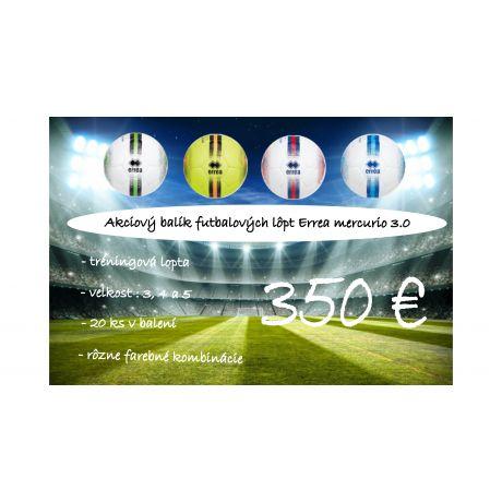 Akciový balík futbalových lôpt Errea Mercurio 3.0