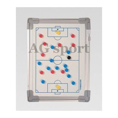 Magnetická taktická tabuľa na futbal - 20 x 30 cm