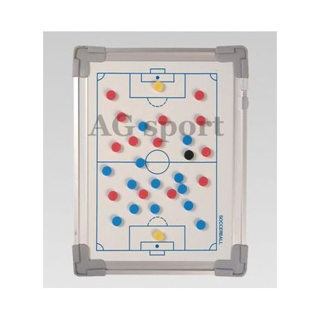Magnetická taktická tabuľa na futbal - 60 x 90 cm