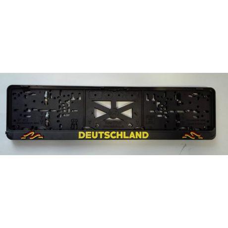 Podložka pod ŠPZ - Deutschland - sada 2 ks