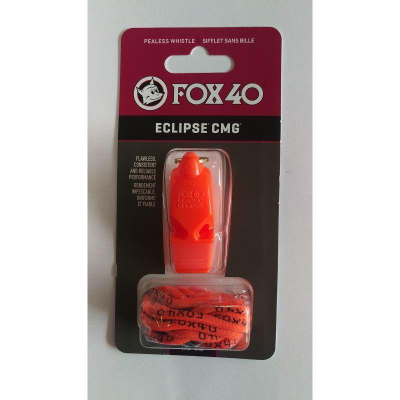 Píštalka Fox 40 Eclipse CMG so šnúrkou