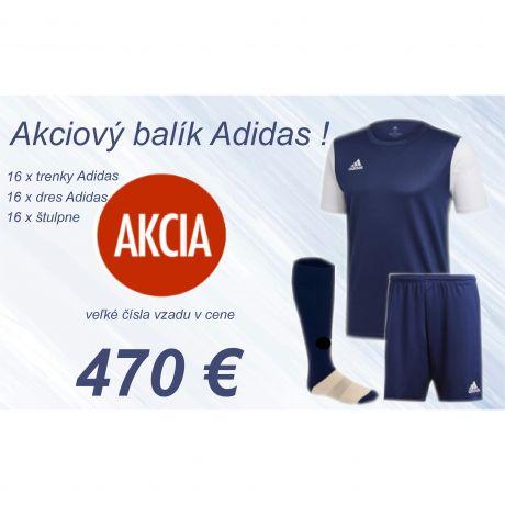 Akciový balík Adidas Estro - 16 ks !