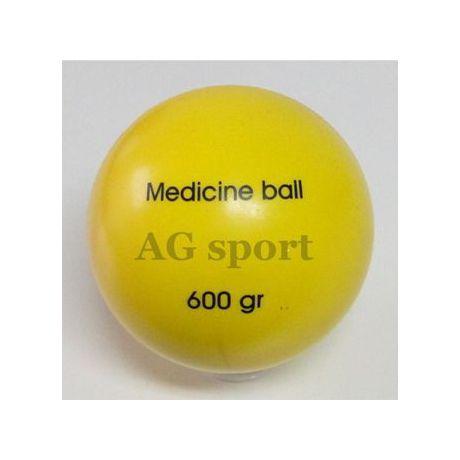 Medicine ball 600 gr - hladký povrch