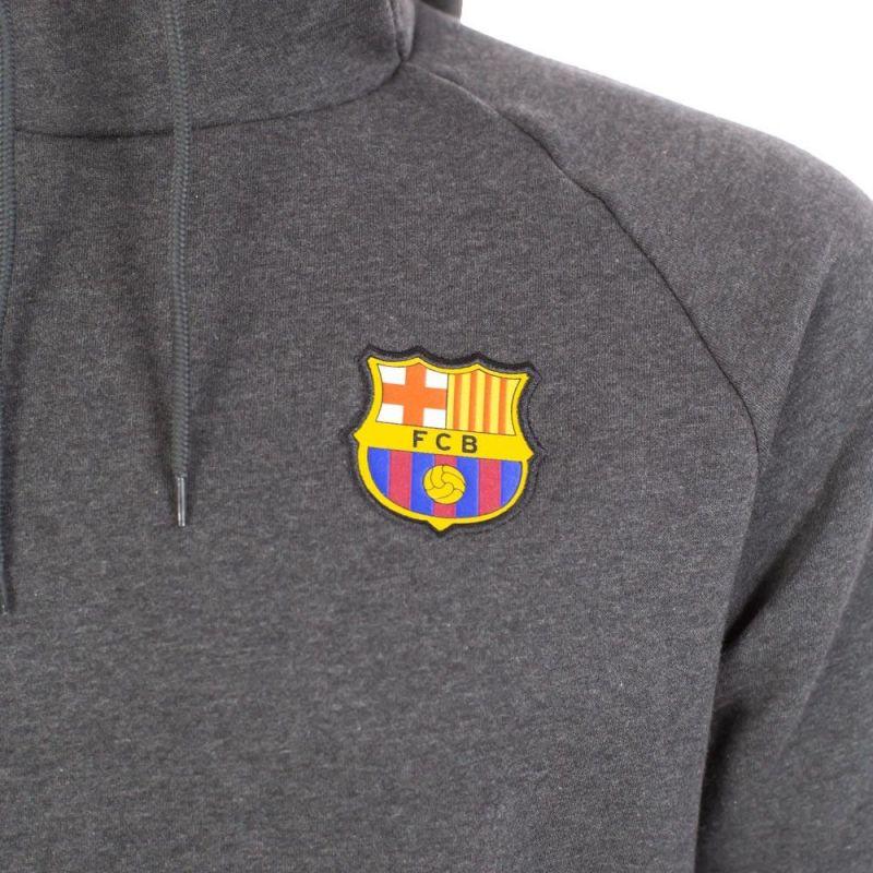 Pánsky pulóver s kapucňou Nike FC Barcelona + darček z nášho obchodu !