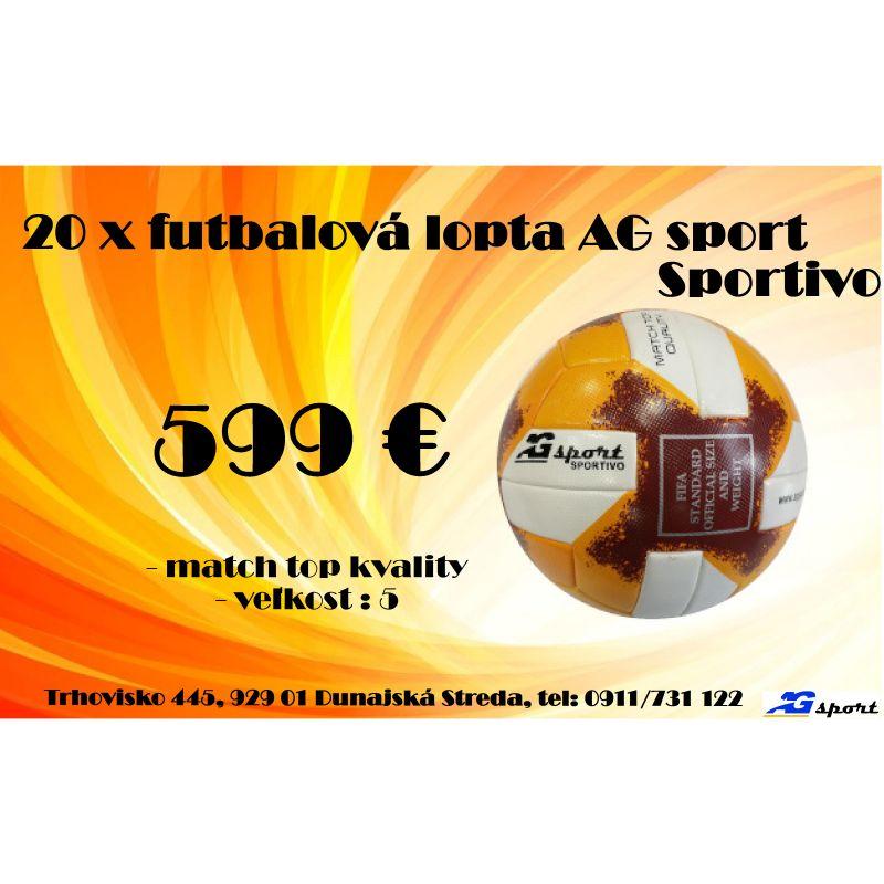 Akciový balík AG sport Sportivo!