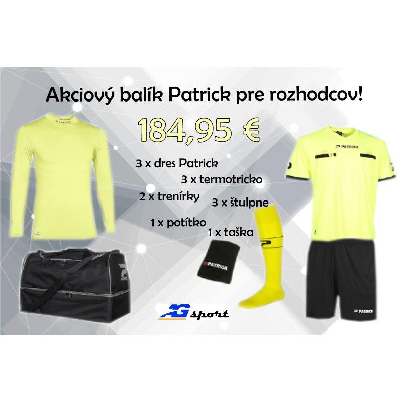 Akciový balík Patrick pre rozhodcov!