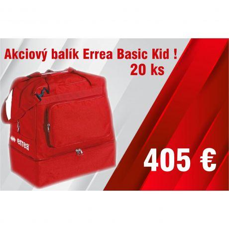 Akciový balík Errea Basic Kid 20 ks !