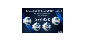Akciový balík Molten F5A5000 - 4 ks!