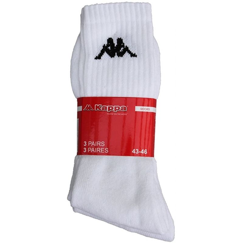 Ponožky Kappa biele