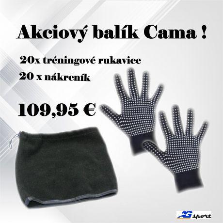 Akciový balík Cama Guanti + Scaldacollo !