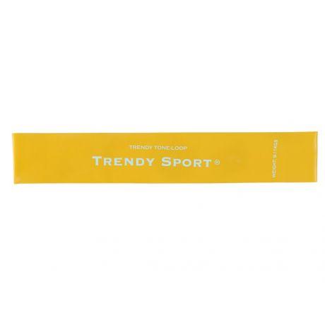 Fitness guma Trendy Sport - žltá ( ľahká záťaž )