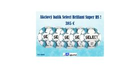 Akciový balík Select Brillant Super HS - 5 ks !