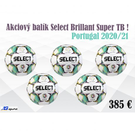 Akciový balík Select Brillant Super TB NOS Portugal - 5 ks !