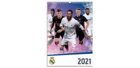 Nástenný kalendár Real Madrid 2021