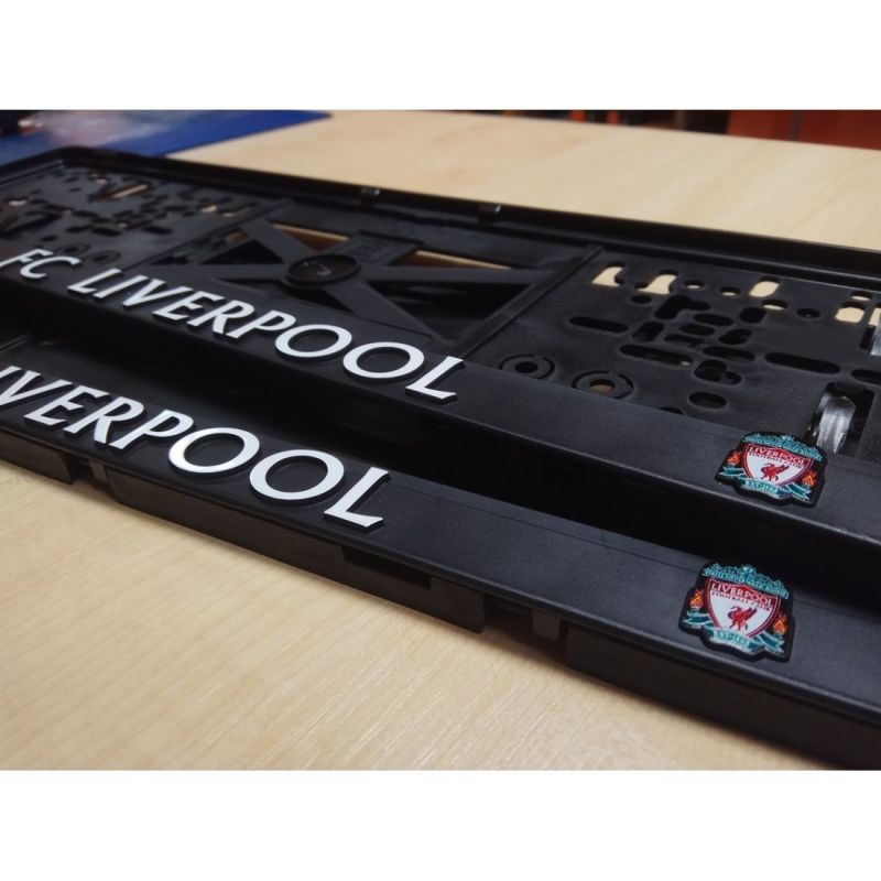 Podložka pod ŠPZ - FC Liverpool