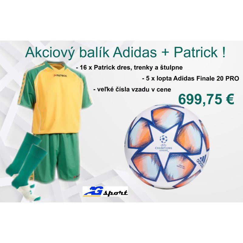 Akciový balík Adidas + Patrick!