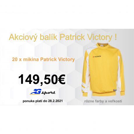 Akciový balík Patrick Victory - 20 ks !
