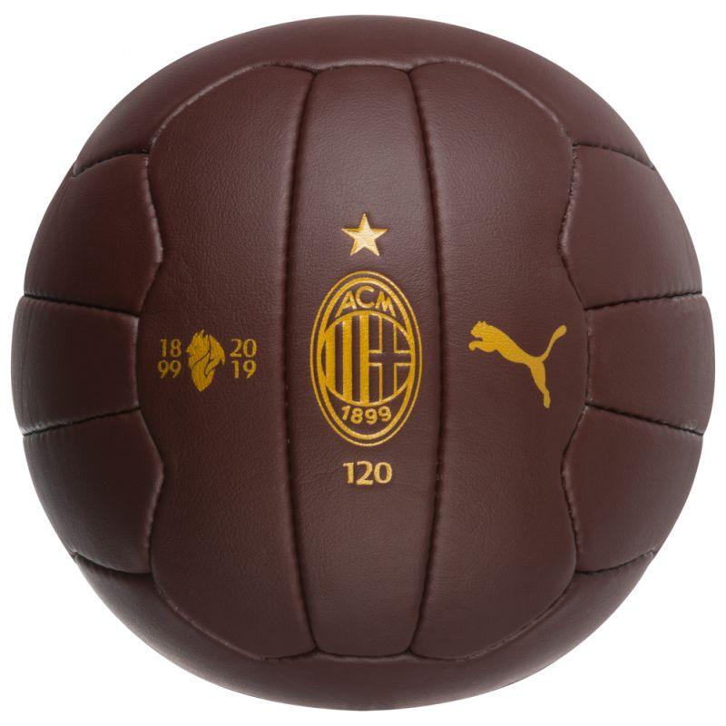 Futbalová lopta Puma AC Milan Retro + darček posteľné obliečky AC Milan !