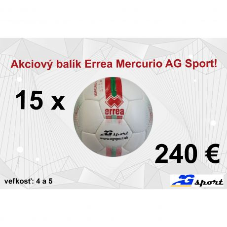 Akciový balík Errea Mercurio AG Sport!