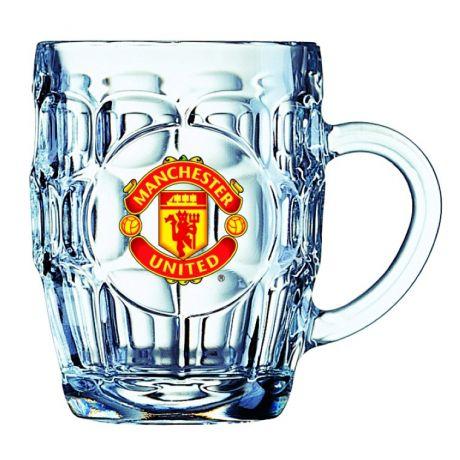 """Krígeľ na pivo Manchester United """"Britania"""""""