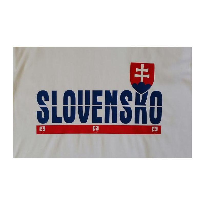 "Tričko ""SLOVENSKO"" FANS"