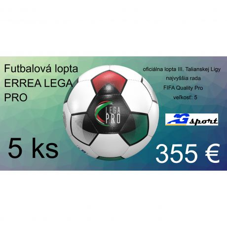 Akciový balík ERREA LEGA PRO - 5 ks L