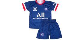Detský futbalový set Messi Paris Saint-Germain: dres + trenírky