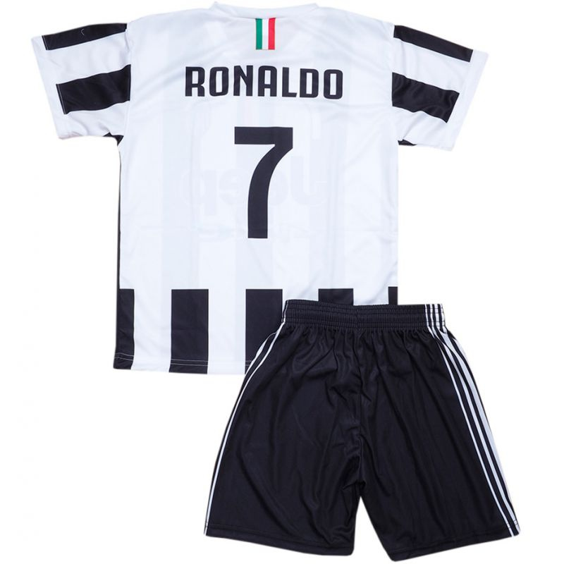 Detský futbalový set Ronaldo Juventus: dres + trenírky