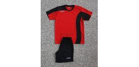 Akciový set - dres+trenírky+štulpne Copa - čierne/červené
