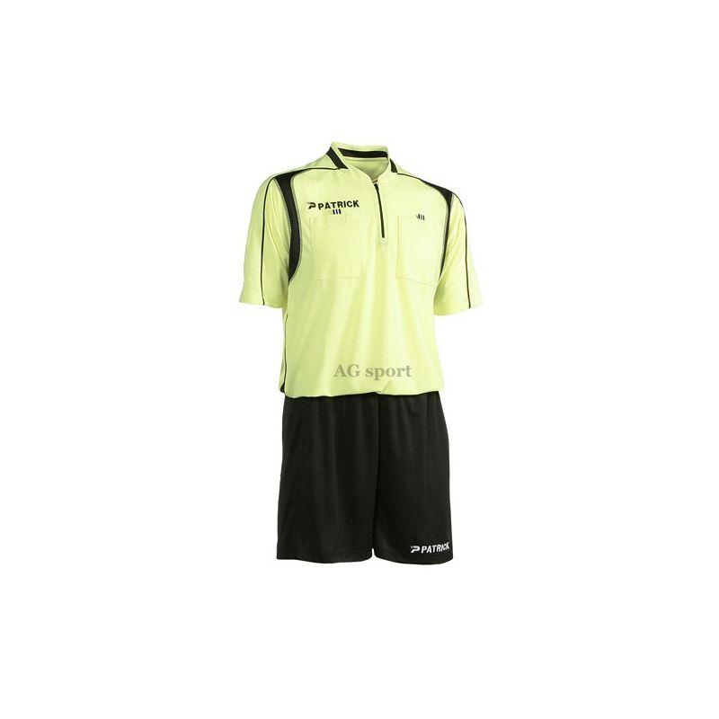 Rozhodcovský dres+trenírky Patrick - žltý
