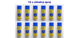 Chladivý sprej so syntetickým ľadom Sprint Line - SET 12 KUSOV!!!