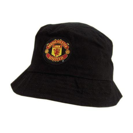 Detský klobúk Manchester United - čierna