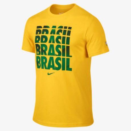 Nike CBF Brasil Type Tee