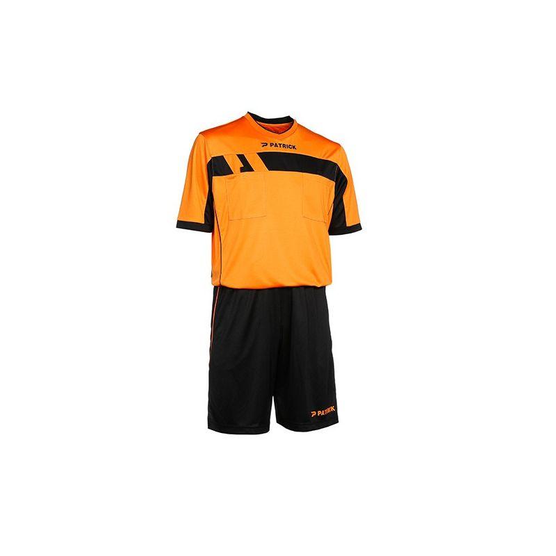 Rozhodcovský dres+trenírky Patrick - oranžový