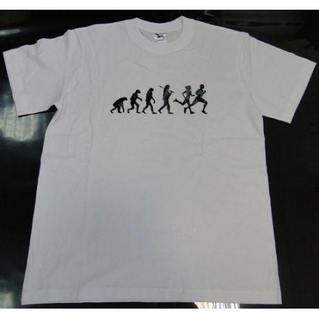 Tričko evolúcia - beh
