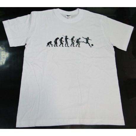 Tričko evolúcia - futbal