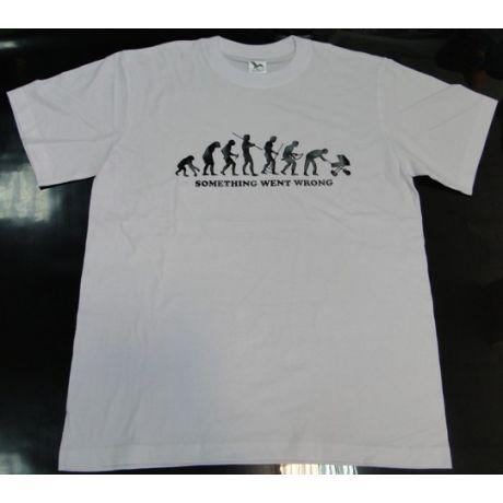 Tričko evolúcia - otec