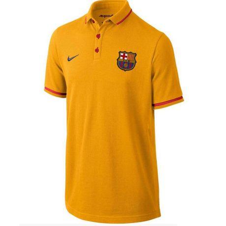 Nike FC Barcelona Authentic GS Polo Shirt (Gold) - Kids