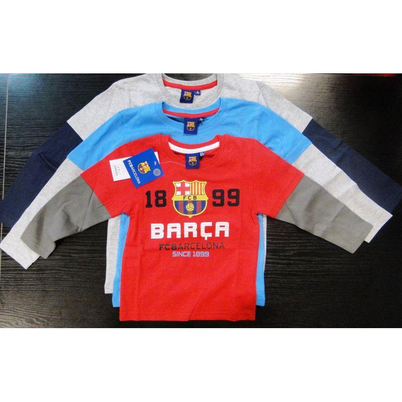 """Detské tričko s dlhým rukávom BARCA """"CC"""" kid"""