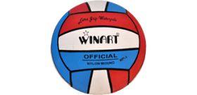 Winart water polo ball červená/biela/modrá