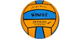 Winart water polo ball žltá/modrá