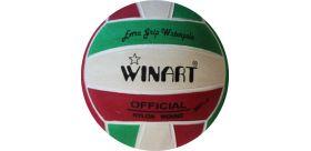Winart water polo ball zelená/bieal/červená