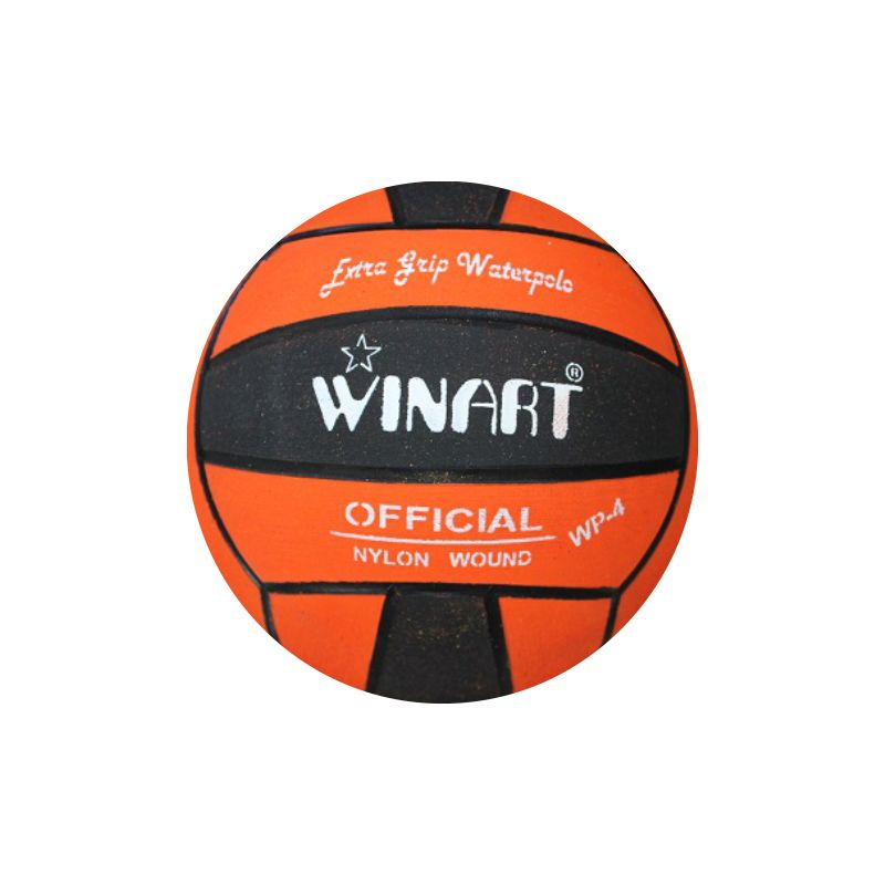 Winart water polo ball oranžová/čierna