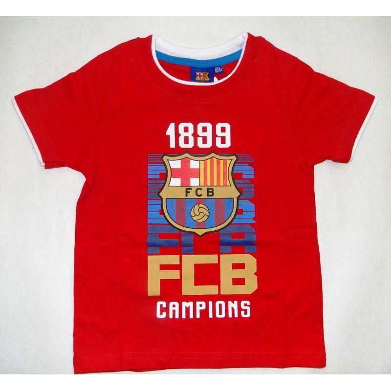 "Detské tričko FC Barcelon ""FCB Campions"""
